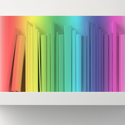 The Rainbow Shelf